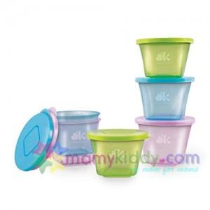 กระปุกเก็บอาหารพร้อมฝาปิด NUK  (BPA Free)