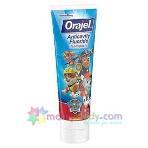 ยาสีฟันป้องกันฟันผุ Orajel Paw Patrol