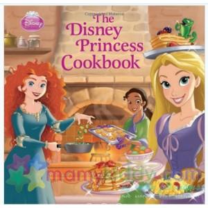 หนังสือตำราอาหารสำหรับเด็กฝึกทำอาหาร The Disney Princess Cookbook