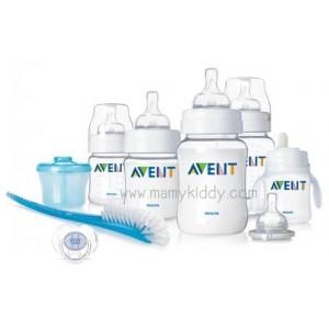 ชุดขวดนมสำหรับทารก Avent PP (BPA Free)