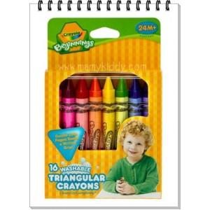 Crayola - สีเทียนล้างออกง่าย