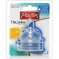 จุกนมซิลิโคน Playtex Drop-Ins ไหลปานกลาง  - แพค 2 ชิ้น