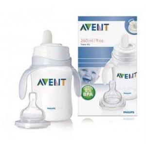 ชุดขวดหัดดื่ม Avent 9 Oz (BPA Free)
