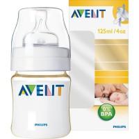 ขวดนม Avent 4Oz (PES) BPA Free - แพคเดี่ยว (ไม่มีกล่อง)