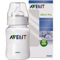 ขวดนม Avent 9 Oz (BPA Free) ชนิด PP แพคเดี่ยว