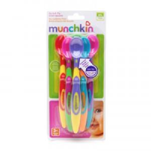 ช้อนทานอาหารปลายนิ่ม Munchkin แพค 6 - BPA Free