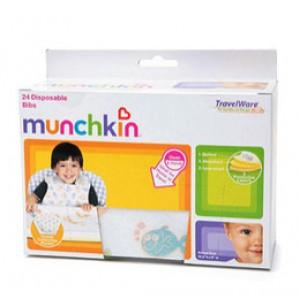 แผ่นกันเปื้อน Munchkin (แบบใช้แล้วทิ้ง) 24 ชิ้น