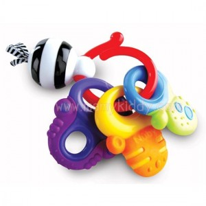 ยางกัด Nuby Fun Key (BPA Free)